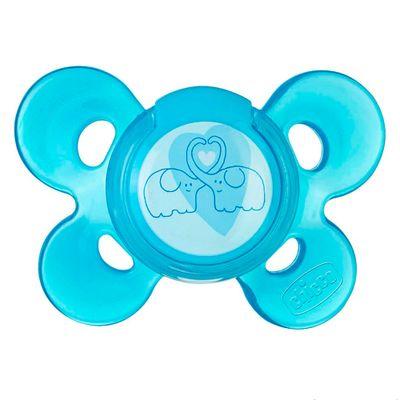 Chupeta-de-Silicone---Physio-Confort---Azul---Tam-2---6-a-12-M---Chicco