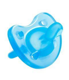 Chupeta-de-Silicone---Physio-Soft---Azul---Tam-2---6-a-12-M---Chicco