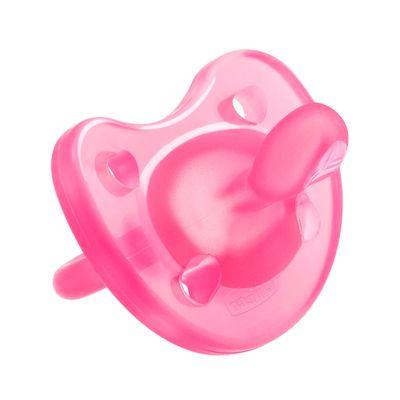 Chupeta-de-Silicone---Physio-Soft---Rosa---Tam-2---6-a-12-M---Chicco