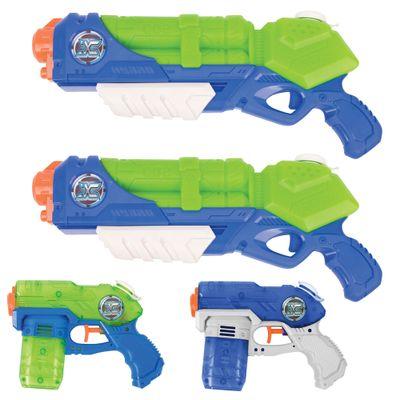 Conjunto-de-Lancadores-de-Agua---X-Shot---Hydro-Series---Value-Pack---Tormenta-e-Maremoto---Candide