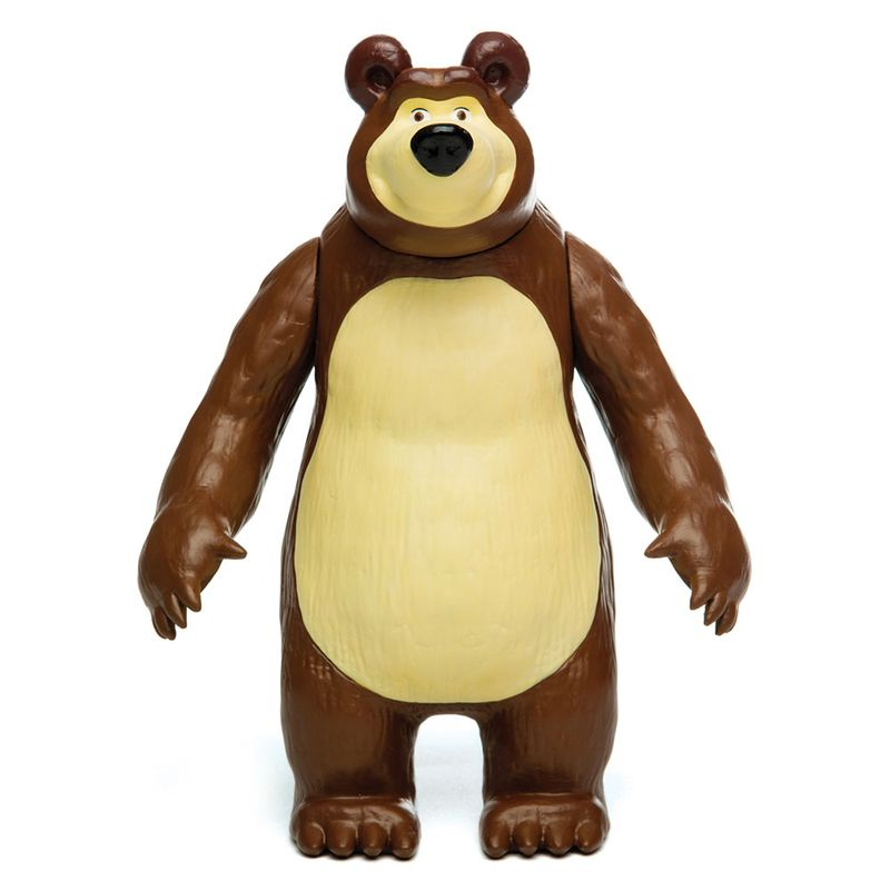 3322db6e1f Figura de Vinil 20 Cm - Masha e o Urso - Urso - Estrela - Ri Happy  Brinquedos
