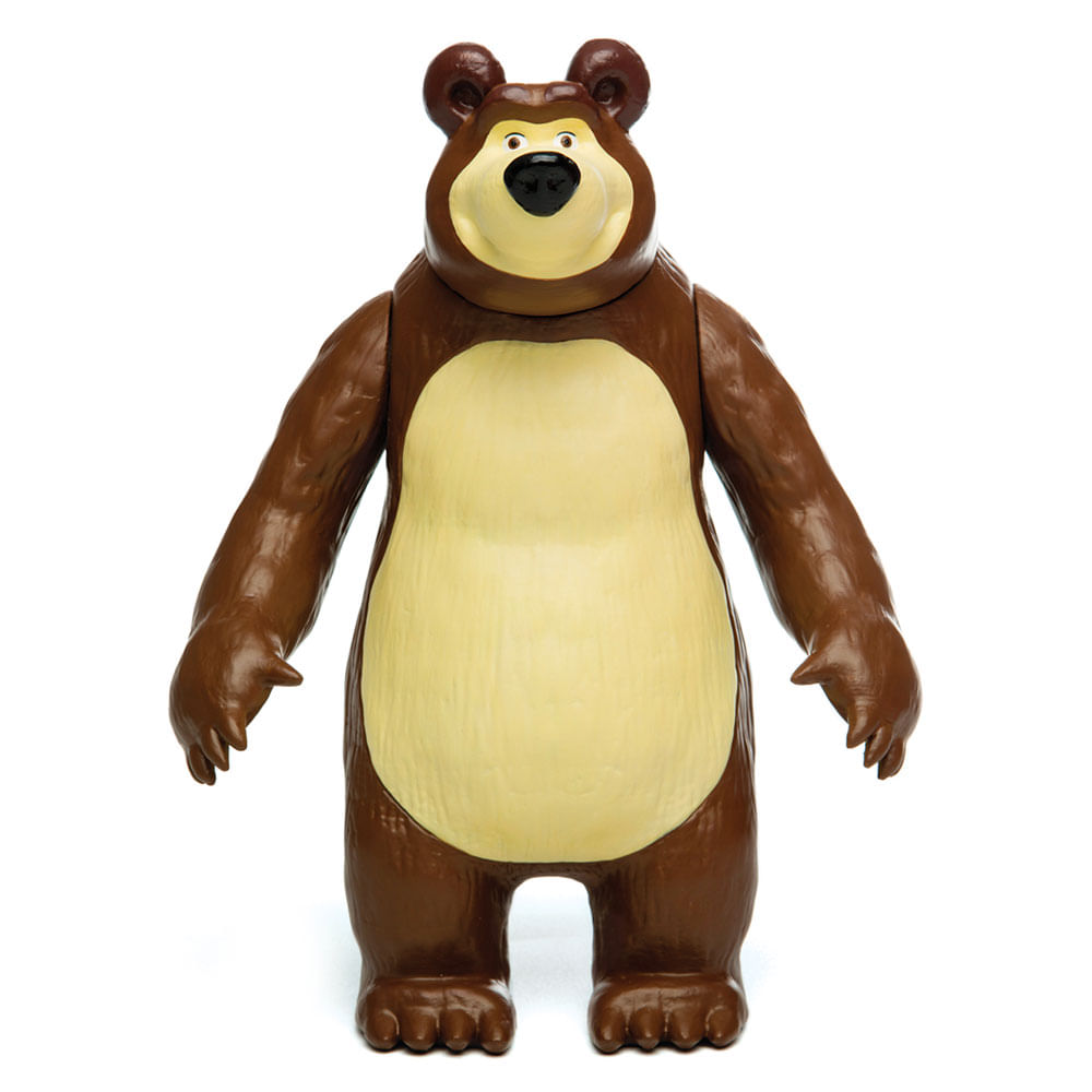Figura de Vinil 20 Cm - Masha e o Urso - Urso - Estrela