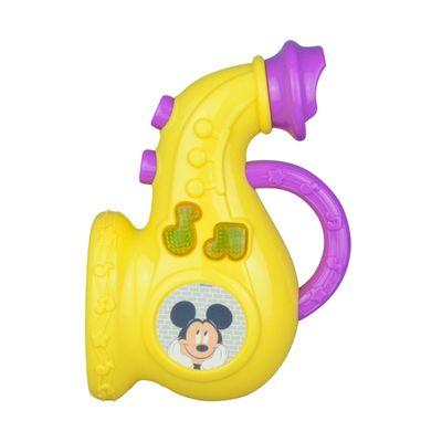Instrumentos---Bebe-Musical---Personagens-Disney---Saxofone-Amarelo---Dican