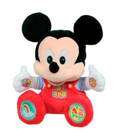 Pelucia-Interativa---30-Cm---Disney---Mickey-Mouse-Divertida---Dican