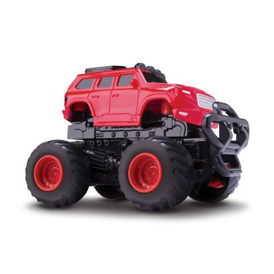 Carrinho-Bate-Transforma---Shock-Car---Van-Vermelha---Rosita