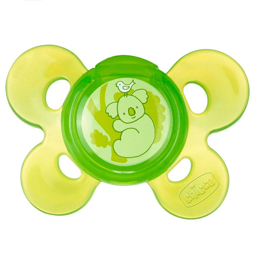 Chupeta de Silicone - Physio Confort - Verde - Tam 3 - 12+ M - Chicco