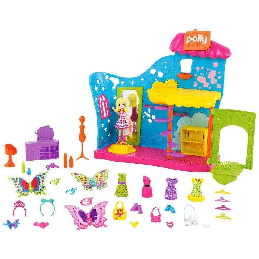 Playset-com-Boneca-e-Acessorios---Polly-Pocket---Polly-Transformacao-Borboleta---Mattel