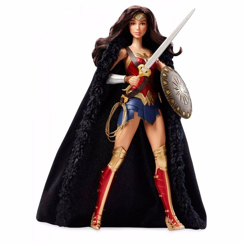 ee321c48cb Boneca Barbie Colecionável - 30 Cm - DC Comics - Wonder Woman ...