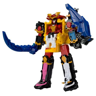 Figura-Articulada---30-Cm---Power-Rangers---Power-Rangers-Ninja-Steel---MegaZord-Transformavel---Sunny