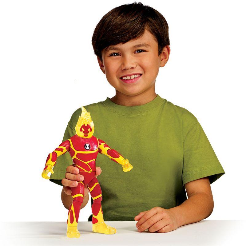 ab2dc21842 Figura Articulada 30 Cm - Ben 10 - Heatblast - Sunny - Ri Happy Brinquedos