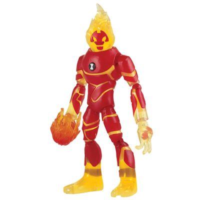 Mini-Figura-Articulada-10-Cm---Ben-10---Heatblast---Sunny