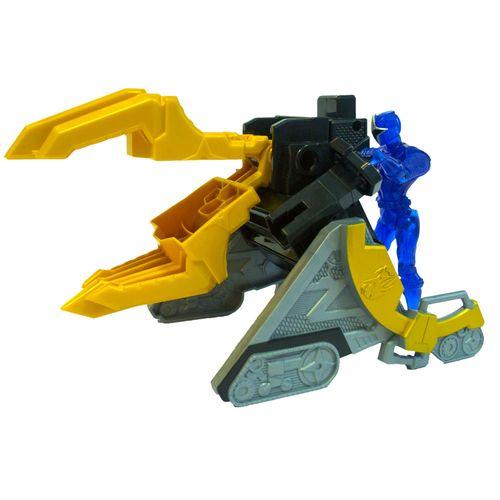 Morfador e Lançador com Figura Articulada - Power Rangers Ninja Steel - Ranger Azul - Sunny