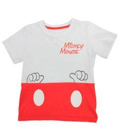 Camiseta-Fantasia-Manga-Curta-em-Meia-Malha---Branca-e-Vermelha---Mickey---Disney---1