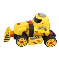 Conjunto-de-Montagem---Meu-Pequeno-Engenheiro---Garagem-SA---Veiculo-de-Construcao---Pa-Carregadeira---Candide