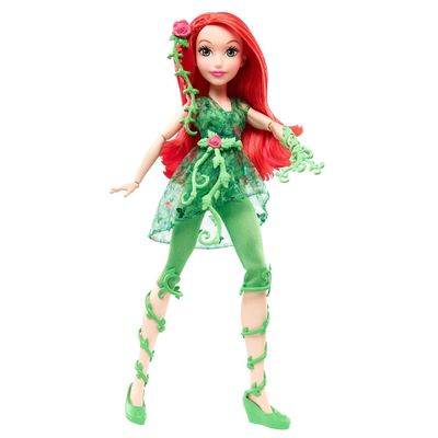 Boneca-Articulada---30-Cm---DC-Super-Hero-Girls---Poison-Ivy---Mattel