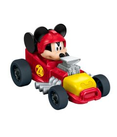 Carrinho-de-Roda-Livre---Disney---Mickey-Aventura-Sobre-Rodas---Mickey-Hot-Rod---Fisher-Price