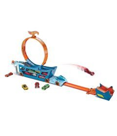 Conjunto-Caminhao-Transportador-e-Pista-Hot-Wheels---Stunt---Go---Mattel