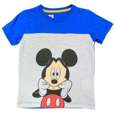 Camiseta-Manga-Curta-em-Meia-Malha-Flame---Branco-e-Azul---Be-Mickey---Disney---2