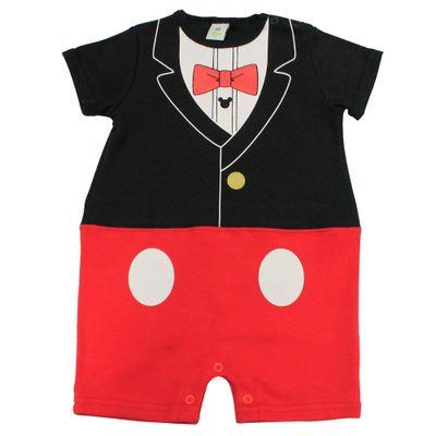 Macaquinho-Fantasia-Manga-Curta-em-Suedine---Vermelho-e-Preto---Mickey---Disney---P