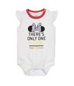 Body-Manga-Curta-com-Babado-em-Cotton---Branco---Be-Minnie---Disney---M
