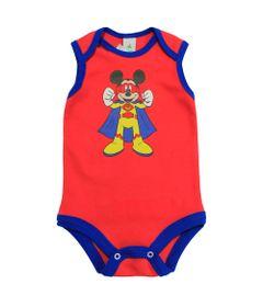 Body-Regata-em-Suedine---Vermelho-e-Azul---Be-Mickey---Disney---P