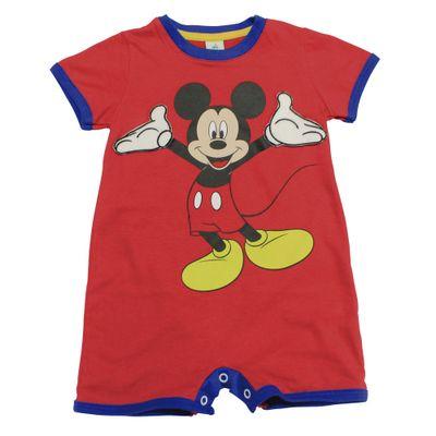 Macaquinho-Manga-Curta-em-Meia-Malha---Vermelho-e-Azul---Be-Mickey---Disney---P