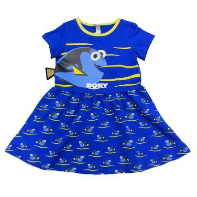 Vestido-Fantasia-Manga-Curta-com-Babado-em-Cotton---Azul---Procurando-Dory---Disney---1
