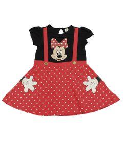 Vestido-Fantasia-Manga-Curta-em-Cotton-com-Poas---Preto-e-Vermelho---Minnie---Disney---3