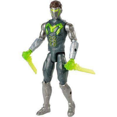 Boneco-Articulado---30-Cm---Max-Steel---Turbo-Guerreiro---Ataque-Camuflado---Mattel