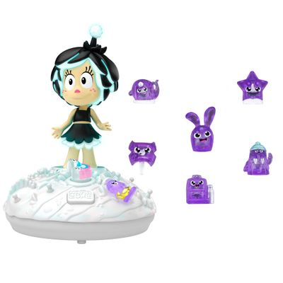Kit-com-Playset-e-Mini-Bonecas---Hanazuki---Jardim-da-Meia-Noite-e-Hemkas-Roxos---Hasbro