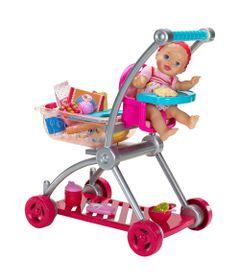 Acessorios-de-Boneca---Carrinho-de-Compras-com-Boneca---Little-Mommy---Mattel