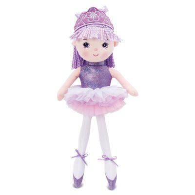 Boneca-de-Pano---45-cm---Princesa-Bailarina---Lilas---Buba
