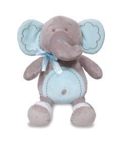 Pelucia---35-cm---Elefantinho-Meu-Carinho---Azul---Buba
