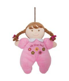 Boneca-de-Pano---24-cm---Primeira-Amiguinha---Rosa---Buba
