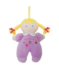 Boneca-de-Pano---24-cm---Primeira-Amiguinha---Lilas---Buba