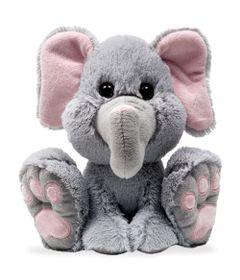 Pelucia---27-cm---Pegada---Elefantinho---Buba