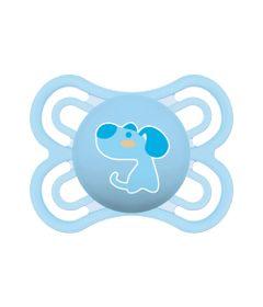 chupeta-perfect-silicone-fase-1-azul-cachorrinho-mam-2491_Frente