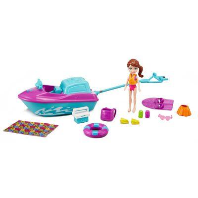 Boneca-e-Veiculo---Polly-Pocket---Lila-e-Jet-Ski---Mattel