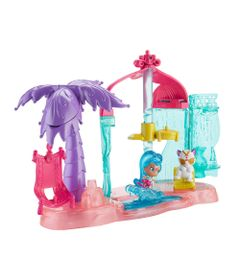 Playset-com-Mini-Boneca---Shimmer---Shine---Festa-na-Praia---Fisher-Price