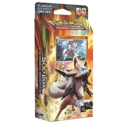 Deck-Pokemon---Starter-Deck---Pokemon-Sol-e-Lua---Sombras-Ardentes---Lycanroc---Copag