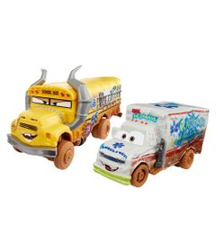 Kit-de-Carrinhos---Crazy-8-Crashers---Disney---Carros-3---Miss-Fritter-e-Dr.-Damage---Mattel
