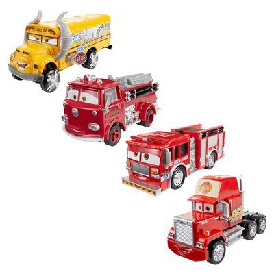 Kit-de-Carrinho-em-Diecast-Deluxe---Disney-Carros-3---Mack-Red-Tiny-Lugsworth-e-Miss-Fritter---Mattel