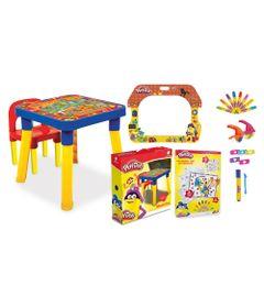 Kit-de-Artes-e-Atividades-Play-Doh---Colorindo-os-Numeros---Lousa-Divertida---Mesinha-e-Cadeira