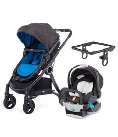 Travel-System-com-Adaptador---Urban-Plus-Keyfit-Night-e-Color-Pack-Plus---Blue---Chicco