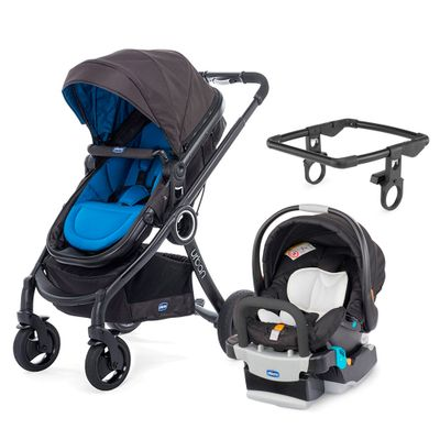 Travel-System-com-Adaptador---Urban-Plus-Keyfit-Night-e-Color-Pack-Plus---Blue---Chicco