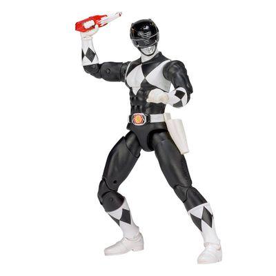Figura-Articulada---20-Cm---Mighty-Morphin---Power-Rangers---Limited-Edition-Die-Cast---Black-Ranger---Sunny