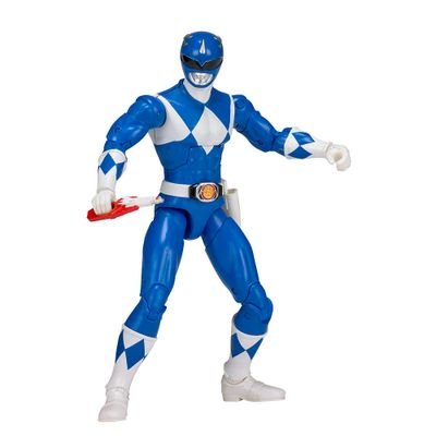 Figura-Articulada---20-Cm---Mighty-Morphin---Power-Rangers---Limited-Edition-Die-Cast---Blue-Ranger---Sunny