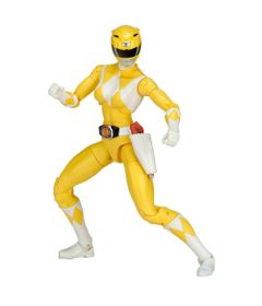 Figura-Articulada---20-Cm---Mighty-Morphin---Power-Rangers---Limited-Edition-Die-Cast---Yellow-Ranger---Sunny