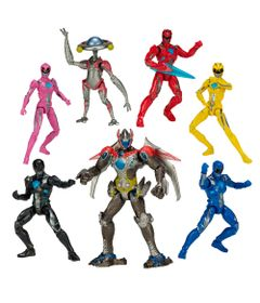 Kit-de-Figuras-Articuladas---20-Cm---Saban-s-Power-Rangers---Legacy-Collection---Build-a-Megazord---Megazord---Sunny