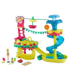 Playset-Polly-Pocket---Parque-Aquatico-dos-Abacaxis---Mattel
